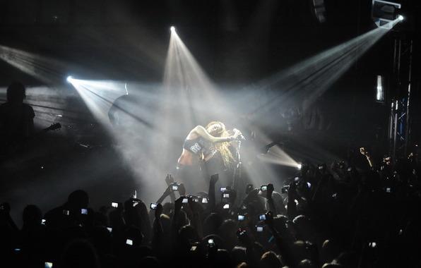 Выступление на концерте